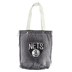 Little Earth NBA Vintage Tote Bag grey