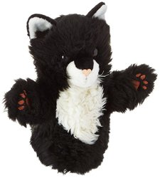 The Puppet CarPet Soft Cat - Black & White