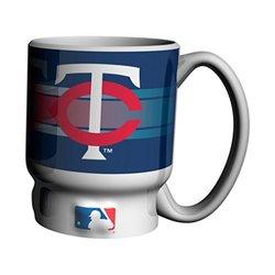 MLB Minnesota Twins Sculpted Sublimated #1 Dad Coffee Mug, 16-ounce