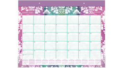 "Acco AT-A-GLANCE 22"" x 17"" 2016 Taryn Monthly Desk Pad (D142-704_16)"