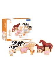 Guidecraft Wedgies Farm Animals Set G1122