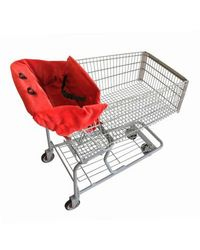 2 Red Hens Studio Shopping Cart Cover - Owl Dots