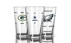 NFL Buffalo Bills Officially Licensed Color Changing Pint Glass - 16 oz