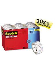 """Scotch 1.88"""" x 54.6 Yard Heavy Duty Packaging Tape - 18 Rolls (3850-18CP)"""