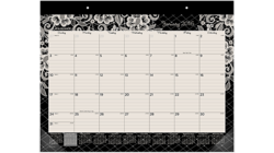 """Acco AT-A-GLANCE 22"""" x 17"""" 2016 Lacey Monthly Desk Pad (D142-704_16)"""