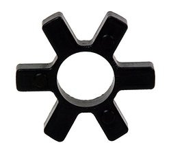 "Lovejoy 68514412612 L276 SOX Rubber Spider - Open Center - 1-3/4"" - Black"