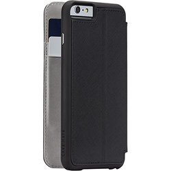 Case-Mate iPhone 6 Plus Stand Folio - Black