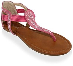 Vicenza Sandals: Coral/7