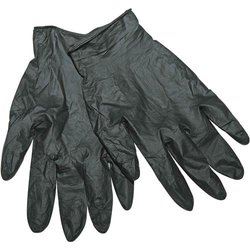 Kinco 2310 Nitrile Industrial Grade Ambidextrous Glove, Disposable, Powdered Free, Medium, Black (Pack of 6 Pairs)