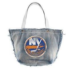 NHL New York Islanders Vintage Tote, Blue