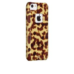 Case-Mate iPhone 5C Tortoiseshell Case - Retail Packaging - Brown