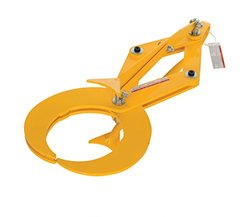Vestil PG-S-060 Heavy Duty Steel Pipe Grab for Steel Pipe, 600 lbs Working Load Limit