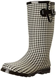 Puddles Textured Rubber Rain Boot