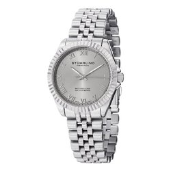Women's Swiss Symphony Watch: GP13053-Silver Band/Silver Dial