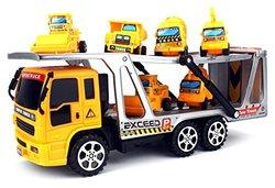 Velocity Toys Construction Tow Trailer