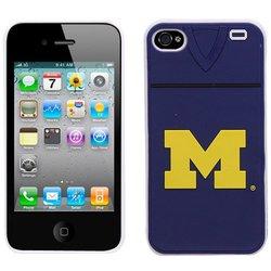 NCAA Michigan Wolverines Jersey Hard Iphone Case