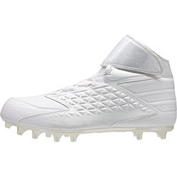 Adidas Men's Freak High Football Cleat Boot - White - Size: 12.5