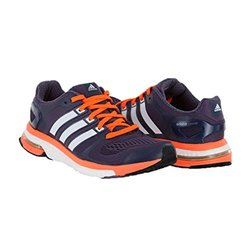 Adidas Women's Adistar Boost W Esm Running Shoe - Purple/Orange - Size: 10