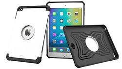 rooCASE iPad Mini 4 Case Bundle Orb System Slim Fit Case Orb Strap Car Mount -  Arctic White