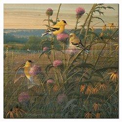 WGI-GALLERY 1212 Golden Meadow Wooden Wall Art