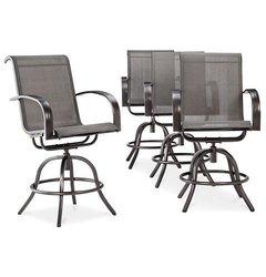 Threshold Camden Balcony Height Chair - Gray