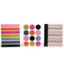 Carolina Pad & Paper 11.75'' x 9.5'' Hot Choclate Design 2-Pockets Folder