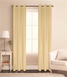 Sally Textiles Sylvia Thermal Blackout Curtains - Beige