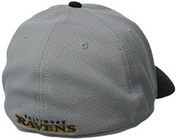 New Era NFL Baltimore Ravens 39Thirty Stretch Fit Cap - Gray - Size: S/M