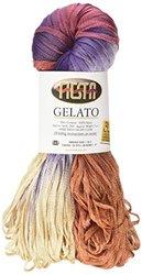 Fiesta Yarns Hand Dyed Gelato Yarn, Navajo Silver