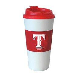 MLB Texas Rangers Sleeved Travel Tumbler, 16-ounce