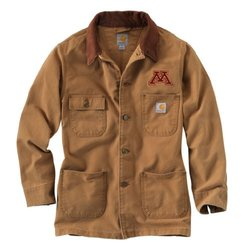 NCAA Minnesota Golden Gophers Men's Weathered Chore Coat - Size: Large