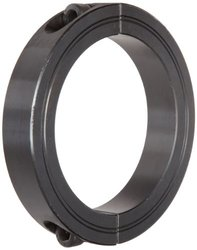 Climax Metal 2pc 80mm Clamping Collar - Black Oxide Steel (M2C-80)