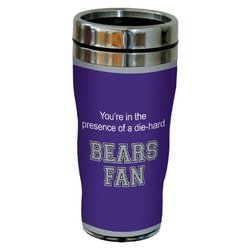 Tree-Free Greetings 16Oz Bears College Basketball Sip 'N Go Travel Tumbler