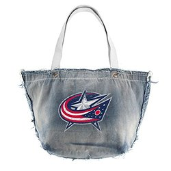 Columbus Blue Jackets Vintage Tote (Denim) blue