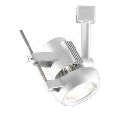 Jesco Lighting LHV270P20-W Contempo Series Line Voltage Track Head for L 2-Wire Single Circuit Track System, White
