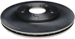 ACDelco 18A836 Professional Rear Disc Brake Rotor Assembly