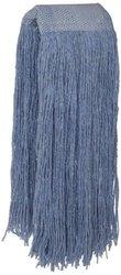 Blendup Blended & Synthetic Fibers Cut End Wet Mop Head - 12 Pack - Blue
