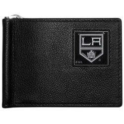 NHL Los Angeles Kings Leather Bill Clip Wallet