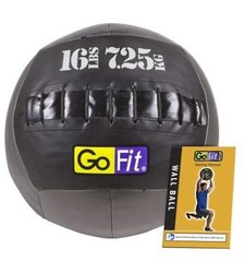 GoFit Wall Ball with Training Manual, 16-Pound - GF-WB16