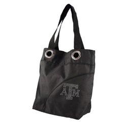NCAA Sport Noir Sheen Tote Bag Texas A&M Aggies