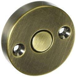 Baldwin 0421050 Satin Brass and Black Round Emergency Release Trim and Key
