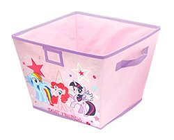 My Little Pony Stackable Storage Bin, 10 x 12.5 x 13