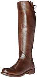 bed stu Women's Manchester Motorcycle Boot, Teak Glaze, 9.5 M US