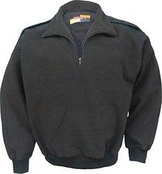 Solar 1 Clothing PS01 Fleece Pullover, Black, Medium