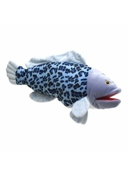 Sunny Toys Half Spotted Hankfish Hand Puppet - Multi - Size: 16""