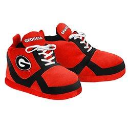 Kids NCAA Georgia Bulldogs 2015 Sneaker Slipper Shoes - Red - Size: Large