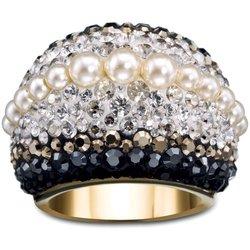 Swarovski Chic Royalty Statement Ring - Size: 9