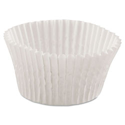 """20 packs of 500 Hoffmaster 4"""" Fluted-Bakery Bake Cup - 1-3/4"""" x 1-1/8"""""""