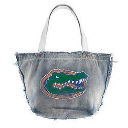 NCAA Florida Gators Vintage Tote, Denim