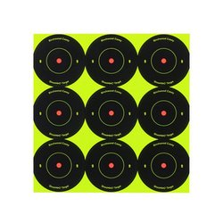 Birchwood Casey Shoot N C Bull's Eye Assorted Target 1000 PC - Size: 2""